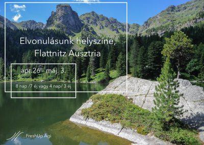 Ausztria, Flattnitz_jóga, meditáció, mantra, elvonulás, FreshUp Yoga tavasz nyár