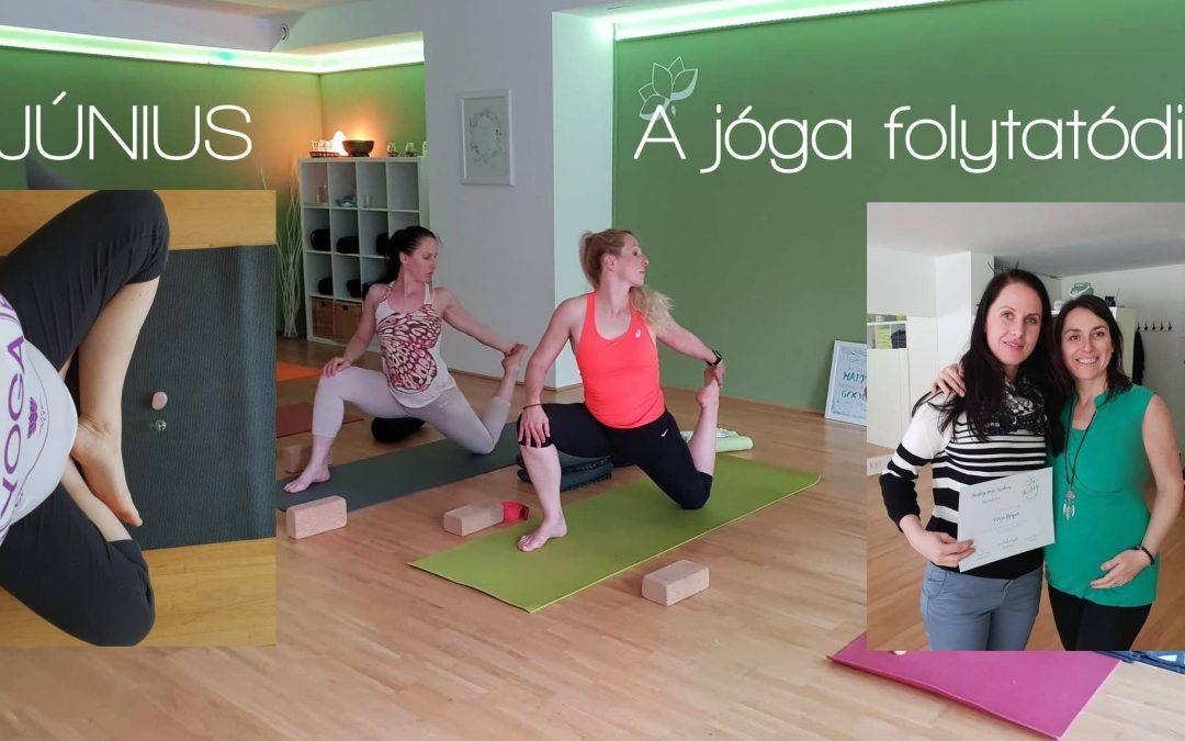 A jóga megy tovább!